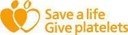 give platelets logo