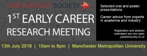 2018-07-13-Platelet-Society-Early-Careers-Meeting