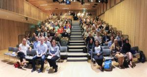 Platelet society members in Cambridge